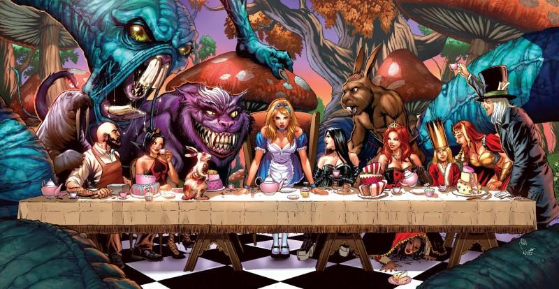 Top 10 Creative Alice In Wonderland Artwork