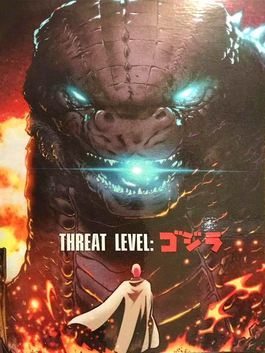 Godzilla vs Saitama