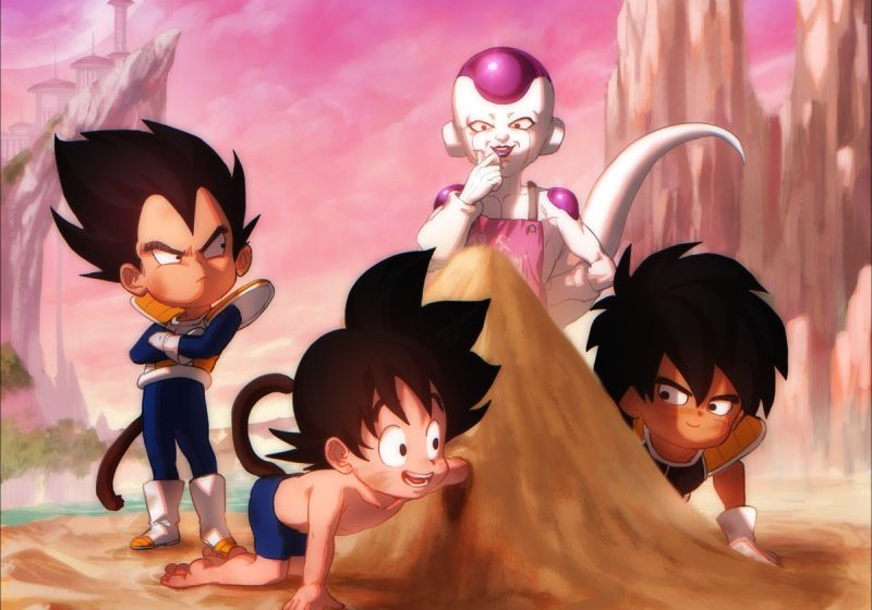 Dragon Ball Super Broly Artwork by Gunsorini