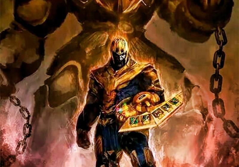 Thanos Summons Exodia (Yu-Gi-Oh!) Artwork