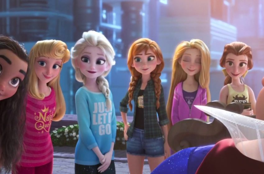 Wreck-It-Ralph 2: Disney Princesses Save Ralph (Full Scene)