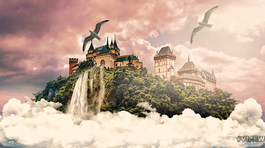 Dreaming About Castles In The Sky (NFT) by Vizewls