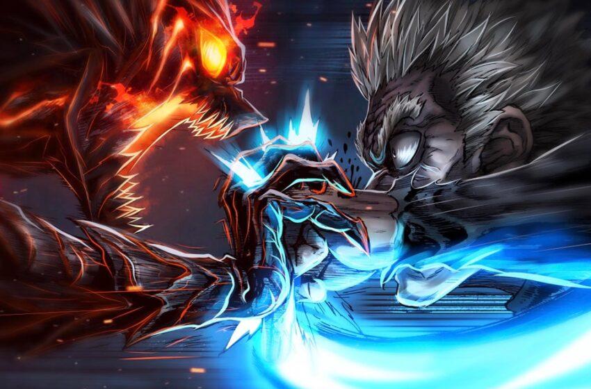 Awakened Garou vs Bang (Fan Art) (PedroZox x MarkReymer)