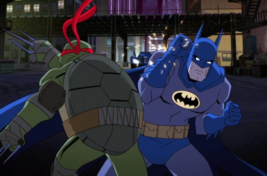 Batman vs Teenage Mutant Ninja Turtles (Full Fight)