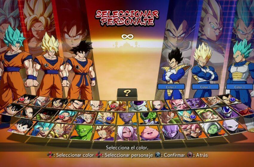 Dragon Ball Fighter Z: Goku vs Vegeta (MrGamePlay)
