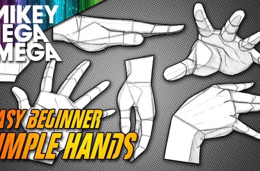 How To Draw Hands – Anime & Cartoon Guide by Mikey Mega