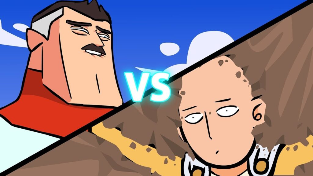 Omni-man vs Saitama