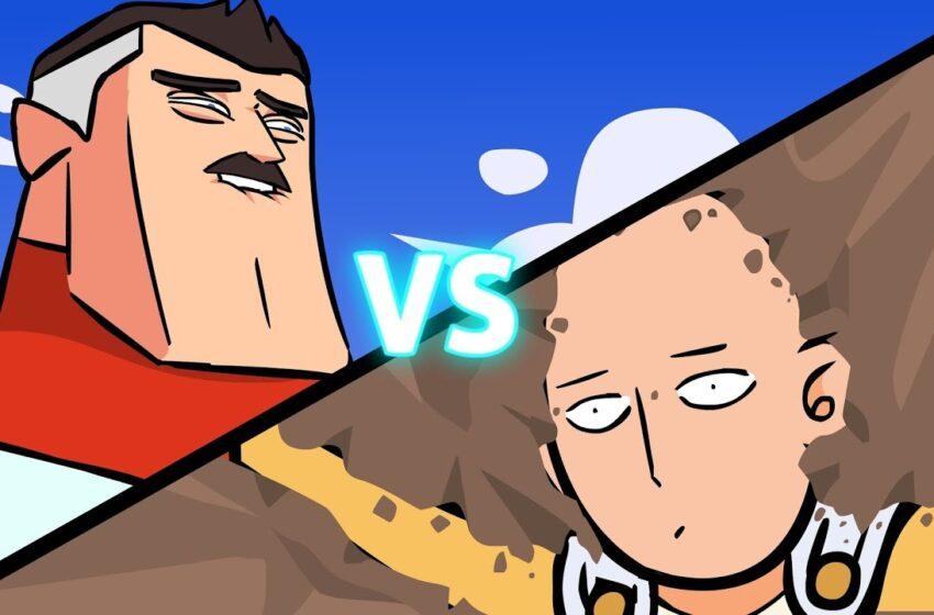 Saitama vs Omni-Man by Anime Toons
