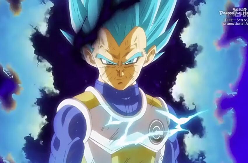"Vegeta's New Super Saiyan Blue ""Emotion Control"" Form"