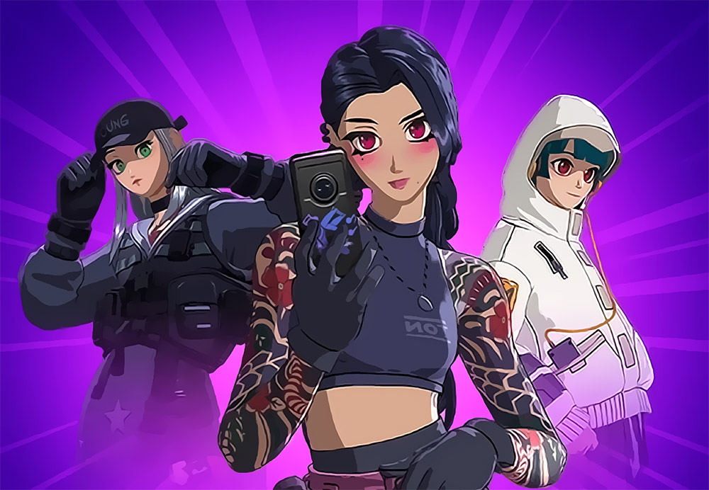 Fortnite Cyber Infiltration Pack