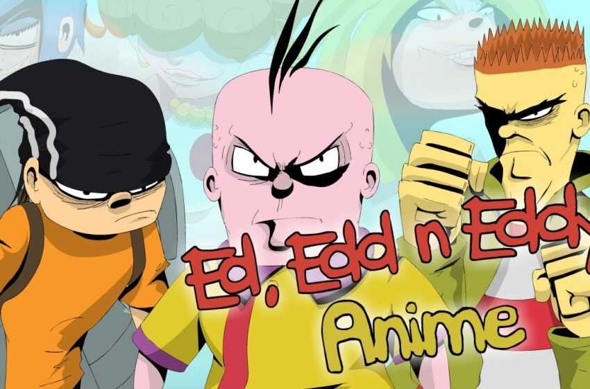 Ed, Edd n Eddy Anime Opening Intro by Nymbus