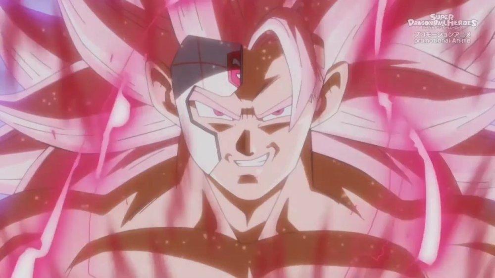 SSJ3 Rose Goku Black
