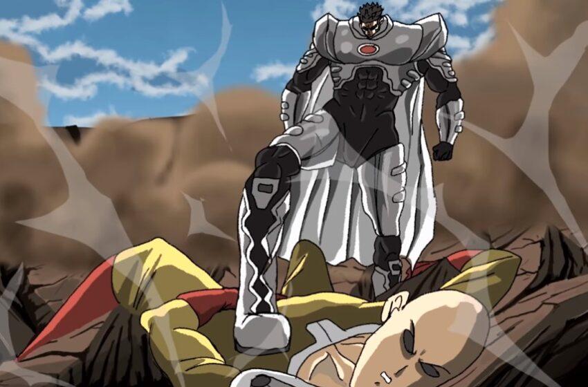Saitama vs Blast (One Punch Man) Part 1 – Fanimation by Animation Guru